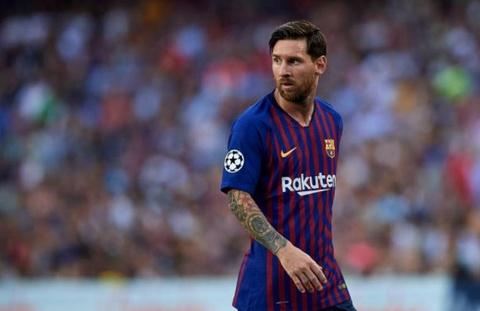 Inter Milan vs Barcelona: Messi truoc loi nguyen 'xanh den' hinh anh