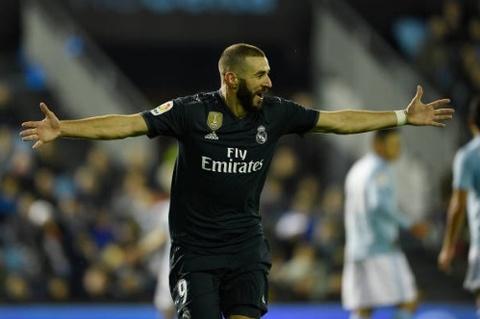 Benzema toa sang giup Real gianh 3 diem tren san Celta Vigo hinh anh