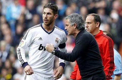 Ramos kho chiu khi nghe tin don HLV Mourinho tro ve Real hinh anh
