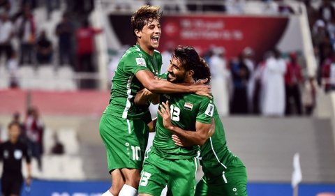 Ha Yemen 3-0, Iraq gianh ve vao vong 1/8 Asian Cup 2019 hinh anh