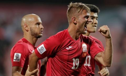 Kyrgyzstan 3-1 Philippines: Nhiệm vụ tuyển Việt Nam thêm khó khăn