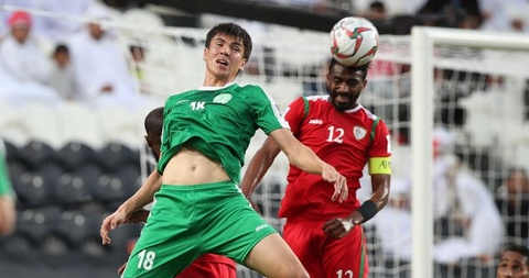 Oman vao vong 1/8 Asian Cup sau chien thang truoc Turkmenistan hinh anh