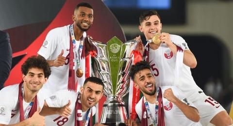 Ha guc Nhat Ban, Qatar dang quang Asian Cup thuyet phuc hinh anh
