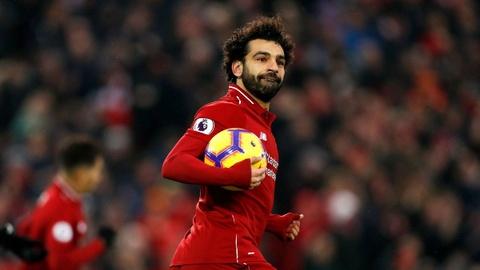 Salah ghi ban, Liverpool tro lai ngoi dau bang Premier League hinh anh