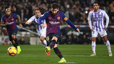 Lionel Messi co thanh tich ghi ban an tuong trong 11 mua lien tiep hinh anh