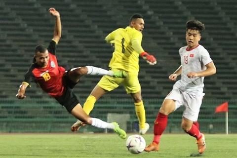 Highlights: U22 Viet Nam 4-0 U22 Timor Leste hinh anh