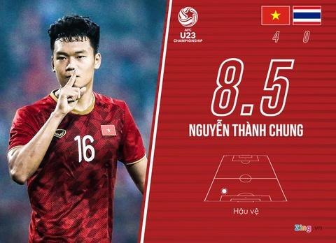 Cham diem U23 Viet Nam 4-0 Thai Lan: Khac biet den tu Quang Hai hinh anh 4