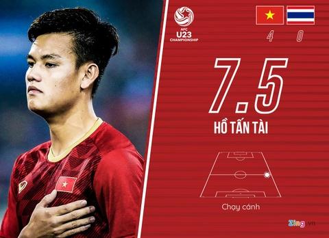 Cham diem U23 Viet Nam 4-0 Thai Lan: Khac biet den tu Quang Hai hinh anh 5
