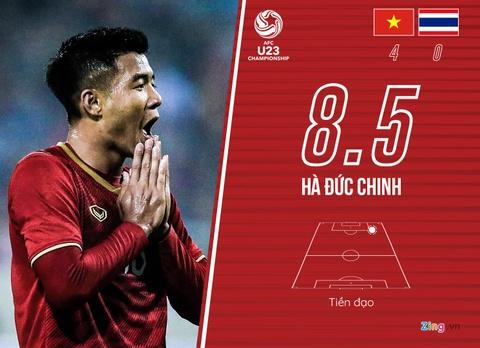 Cham diem U23 Viet Nam 4-0 Thai Lan: Khac biet den tu Quang Hai hinh anh 10