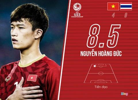 Cham diem U23 Viet Nam 4-0 Thai Lan: Khac biet den tu Quang Hai hinh anh 11