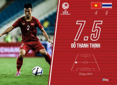Cham diem U23 Viet Nam 4-0 Thai Lan: Khac biet den tu Quang Hai hinh anh 14