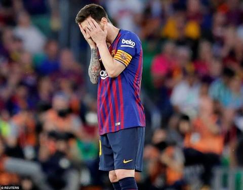 Barca thua Valencia - mat trai cua thien tai Messi hinh anh 1