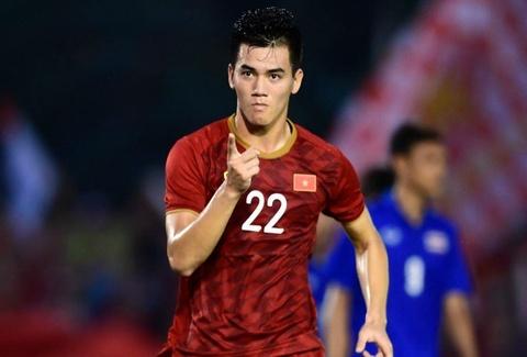 Loai Thai Lan, U22 Viet Nam gianh ve vao ban ket SEA Games hinh anh