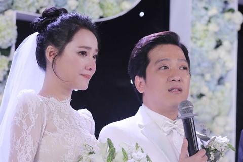 Truong Giang va Nha Phuong khoc nghen trong le cuoi hinh anh
