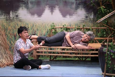Dien vien tre khien Tran Thanh khoc, Hoai Linh ne phuc o On gioi hinh anh