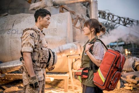 Nhung khoanh khac dep den tan chay cua Song Joong Ki - Song Hye Kyo hinh anh 1