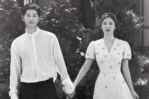 Nhung khoanh khac dep den tan chay cua Song Joong Ki - Song Hye Kyo hinh anh 6