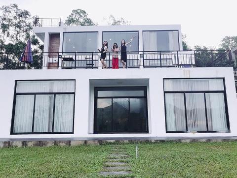 Den Tam Dao, dung bo qua nhung homestay co view 'song ao' cuc chat hinh anh 17