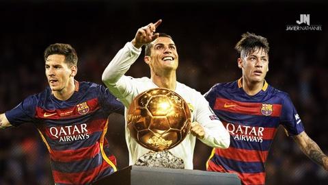 'Neymar truong thanh nho Messi va Ronaldo' hinh anh
