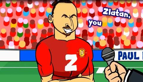 Hoat hinh vui: Chua Ibra dem cup ve cho Manchester United hinh anh