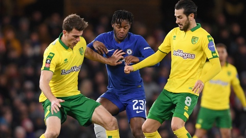 Highlights Chelsea 1-1 Norwich (pen 5-3) hinh anh