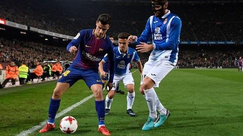 6 thang tai Espanyol va giac mo Nou Camp cua Philippe Coutinho hinh anh 1