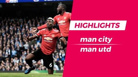 Highlights Man City 2-3 Man Utd: Nguoc dong kho tin hinh anh