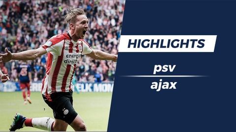 Highlights: Da bai Ajax, PSV len ngoi som 3 vong dau hinh anh
