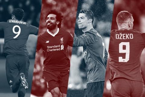 So sanh 4 mui nhon vong ban ket Cup chau Au: Ronaldo, Salah vuot troi hinh anh
