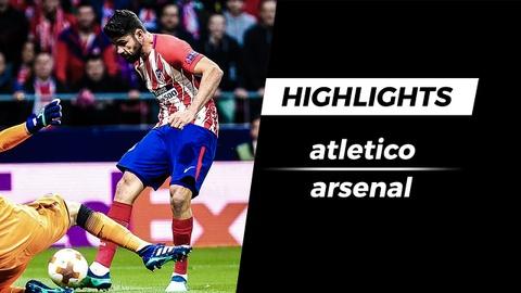 Highlights Atletico vs Arsenal: 'Hung than' len tieng hinh anh