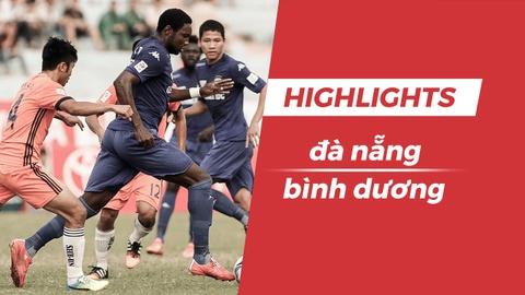 Highlights CLB Da Nang - CLB Binh Duong: Chia diem tai Hoa Xuan hinh anh