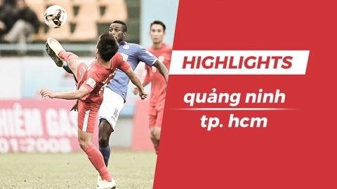 Highlights Phi Son nhan the do, doi bong cua Miura thua CLB Quang Ninh hinh anh