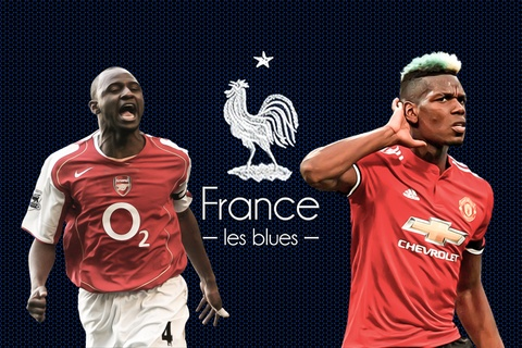Laurent Blanc so sanh Paul Pogba voi huyen thoai Arsenal hinh anh