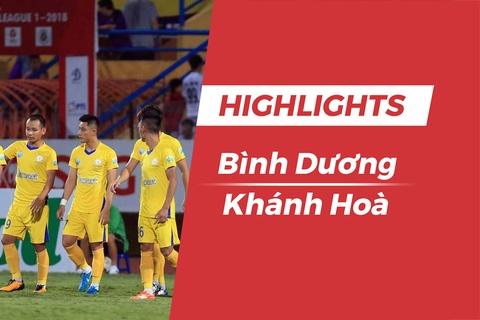 Highlights CLB Binh Duong 0-3 CLB Khanh Hoa hinh anh