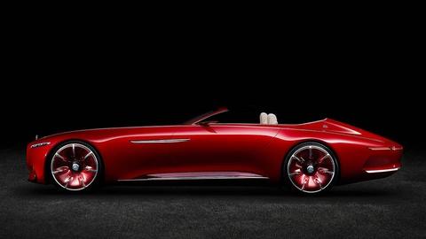 Mau mui tran sieu sang Mercedes-Maybach S600 Concept sap ra mat hinh anh
