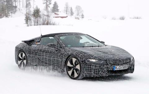 BMW i8 Roadster 2018 - sieu xe hybrid gia 'binh dan' hinh anh
