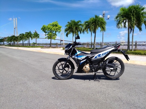 Danh gia Suzuki Raider 2017: Doi thu cua Yamaha Exciter hinh anh