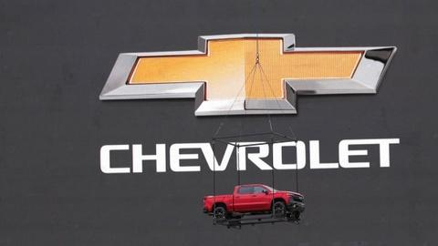 Hinh anh dau tien cua Chevrolet Silverado 2019 hinh anh