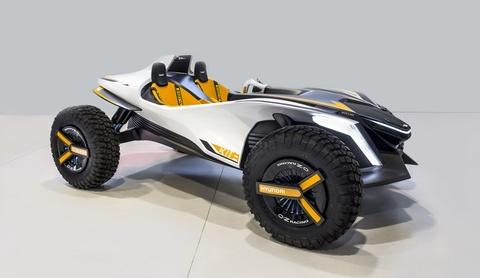 Hyundai ra mat mau Dune Buggy concept Kite tai trien lam Geneva hinh anh