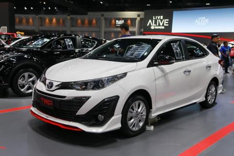 Chi tiet Toyota Yaris Ativ TRD 2018 vua ra mat tai Thai Lan hinh anh 1