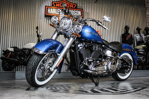 Harley-Davidson Softail Deluxe 2018 gia gan mot ty duy nhat o VN hinh anh
