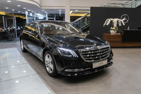 Danh gia nhanh Mercedes-Benz S450 L hinh anh