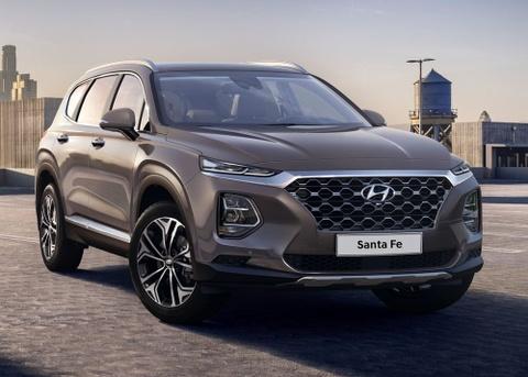 Chi tiet Hyundai Santa Fe 2019 - hien dai va an toan hon hinh anh 3