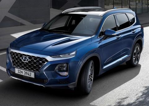 Chi tiet Hyundai Santa Fe 2019 - hien dai va an toan hon hinh anh 4