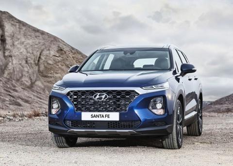 Chi tiet Hyundai Santa Fe 2019 - hien dai va an toan hon hinh anh 2