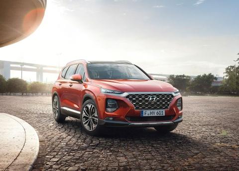 Chi tiet Hyundai Santa Fe 2019 - hien dai va an toan hon hinh anh 7