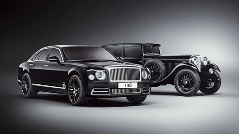 Bentley Mulsanne W.O Edition ban ky niem 100 nam thanh lap hang hinh anh