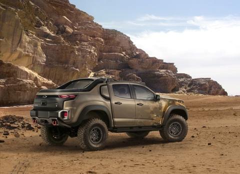 Chevrolet Colorado ZH2 - ban tai chien xa cua quan doi My hinh anh 4