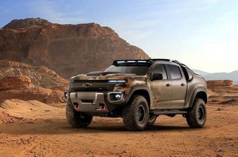 Chevrolet Colorado ZH2 - ban tai chien xa cua quan doi My hinh anh 1