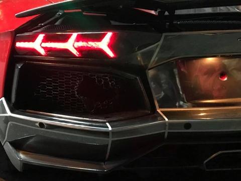 Sieu xe Lamborghini Aventador boc chay o Da Nang hinh anh
